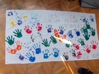 Katolička OŠ Šibenik - Daj 10 za dječja prava1